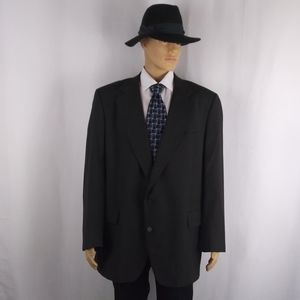 Jos. A. Bank black blazer jacket men's size 50R